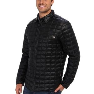 0ce3f4566 North Face Mens Reyes Thermoball Shirt Jacket Sz M